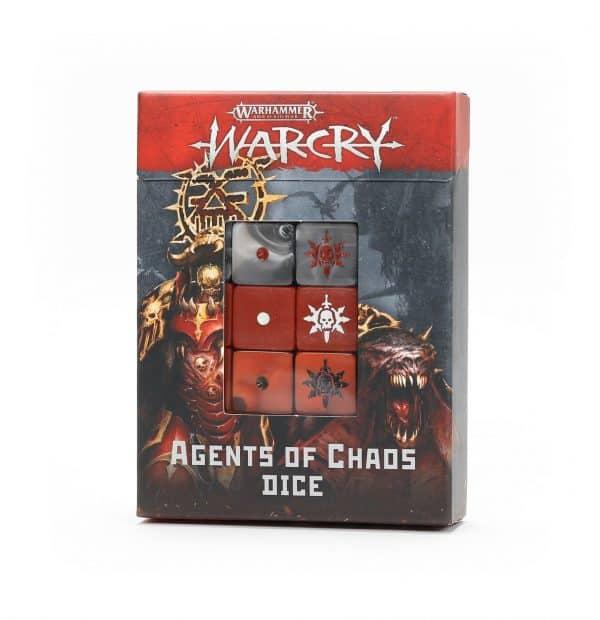 Warcry: Juego de dados de Agentes del Caos