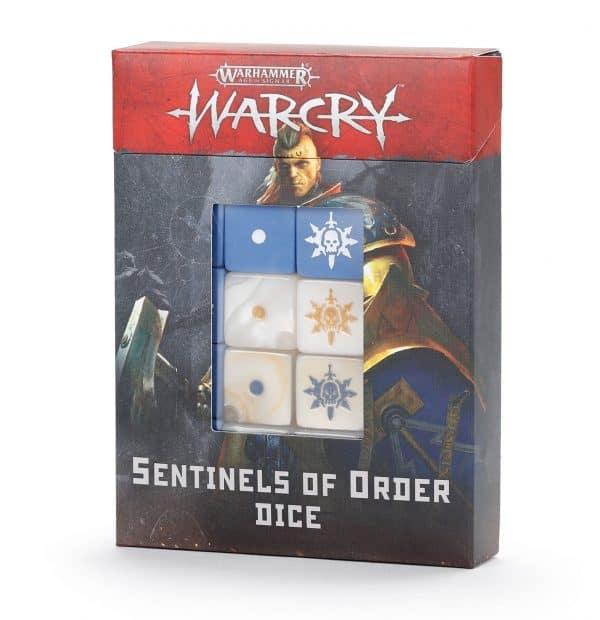 Warcry: Juego de dados Centinelas del Orden