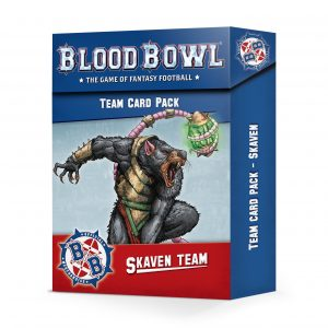 Skaven Team Card Pack (Inglés)