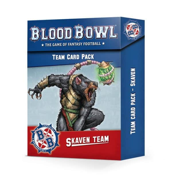 Skaven Team Card Pack (Inglés)