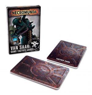 Necromunda: Van Saar Gang Tactics Cards (Second Edition) (Inglés)