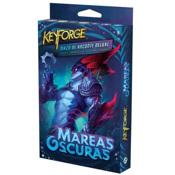 KeyForge Mareas Oscuras Mazo Deluxe
