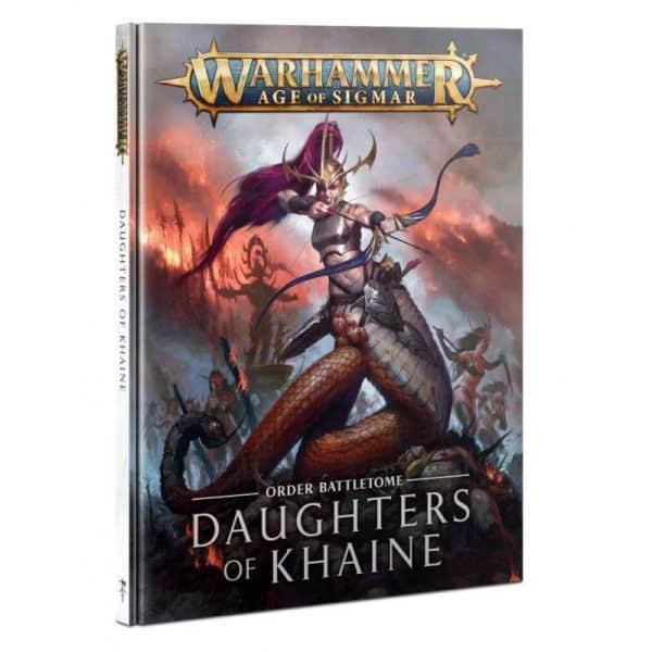 Tomo de batalla: Daughters of Khaine