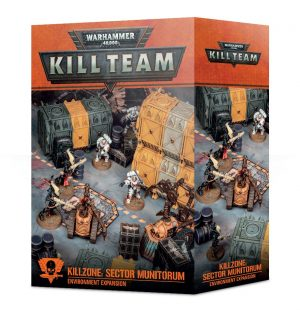 Kill team Killzone: Expansión de terreno Sector Munitorum