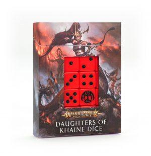 Juego de dados Daughters of Khaine