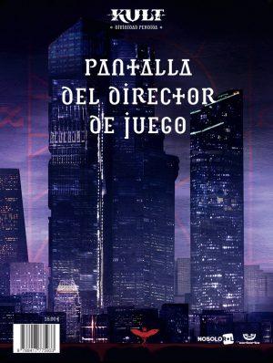 KULT: Pantalla del Director de Juego