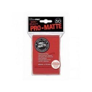 Standard Pro Matte 66 X 91 Color Rojo