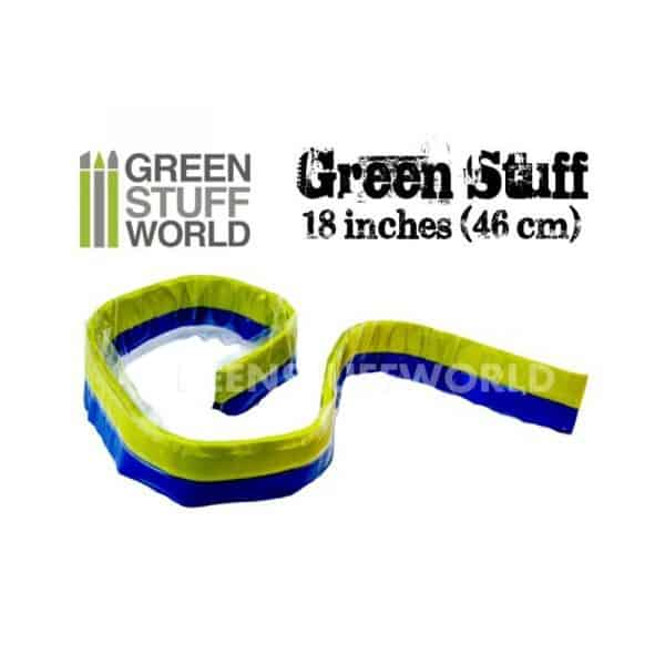 Masilla verde en Rollo 46 cm