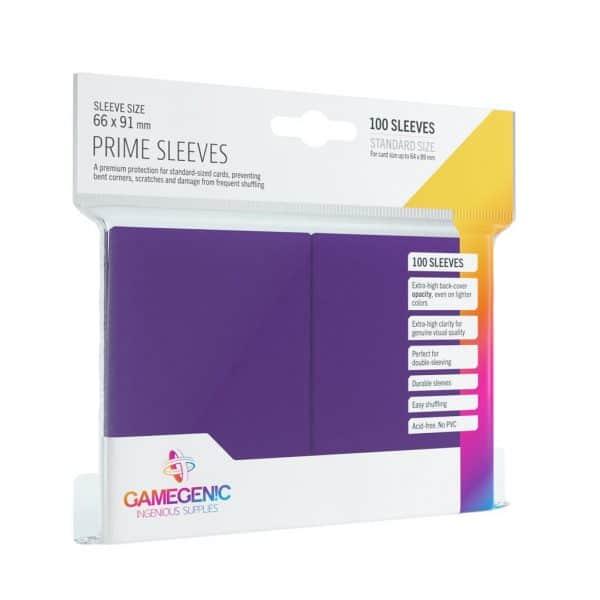 Pack Prime Sleeves Purple (100)