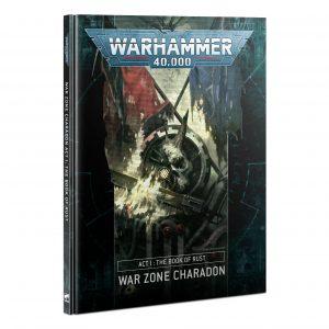 Zona de guerra Charadon - Acto I: El libro de la Herrumbre