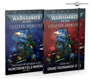 Aprobado por el capítulo: Pack de misión Grand Tournament 2021 y Manual de Campo del Munitorum 2021 MkII