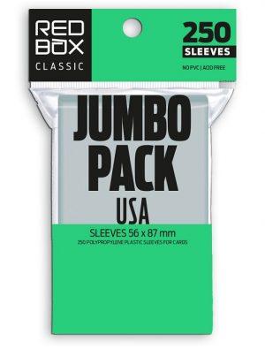 FUNDAS RED BOX JUMBO PACK USA CLASSIC 60 MICRAS 56X87 (250)