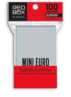 FUNDAS RED BOX MINI EURO CLASSIC 60 MICRAS 44X68 (110)