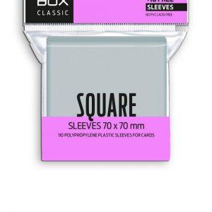 FUNDAS RED BOX SQUARE CLASSIC 60 MICRAS 70X70 (110)