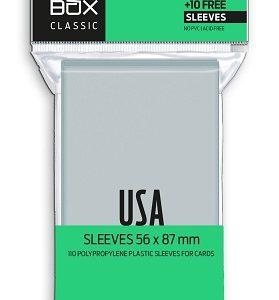 FUNDAS RED BOX USA CLASSIC 60 MICRAS 56X87 (110)