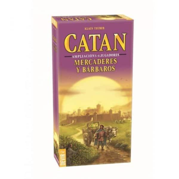 Mercaderes y Bárbaros de Catán 5-6 jugadores
