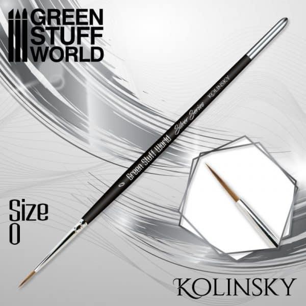 SILVER SERIES Pincel Kolinsky - 0