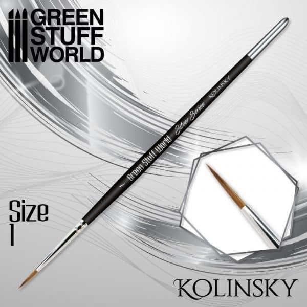 SILVER SERIES Pincel Kolinsky - 1