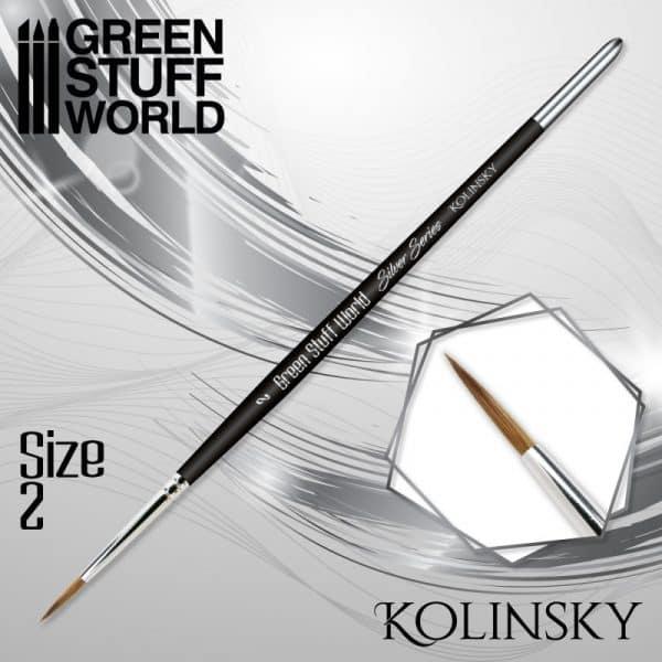 SILVER SERIES Pincel Kolinsky - 2