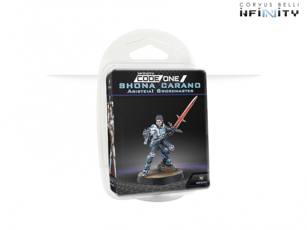 Shona Carano Aristeia! Swordmaster (Submachine gun)