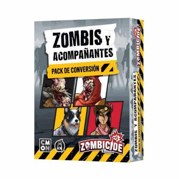 Zombis y acompañantes - Pack de conversión