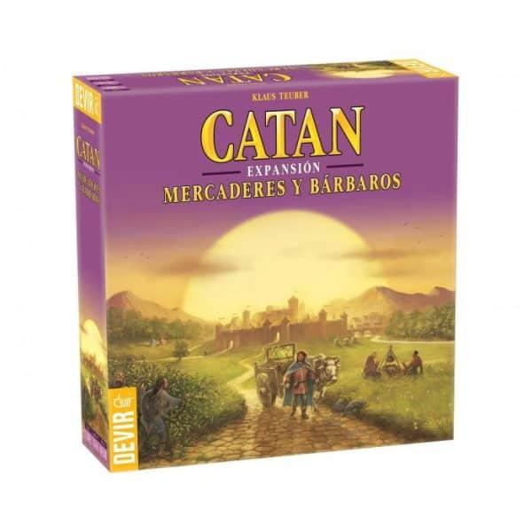 Mercaderes y Bárbaros de Catan