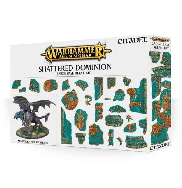 Kit de detalle para peanas grandes Shattered Dominion