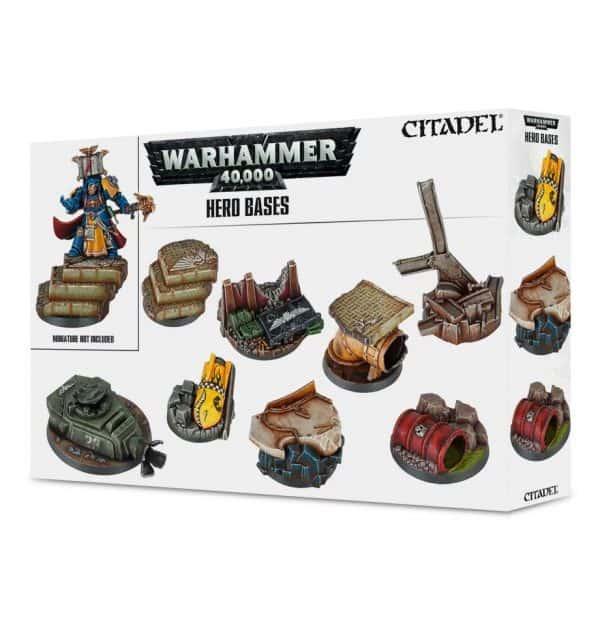 Peanas para héroes de Warhammer 40,000