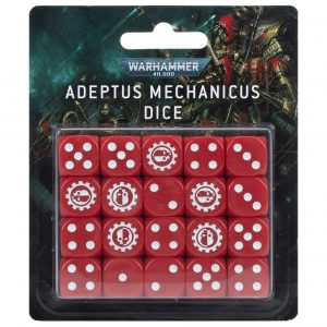 Juego de dados del Adeptus Mechanicus