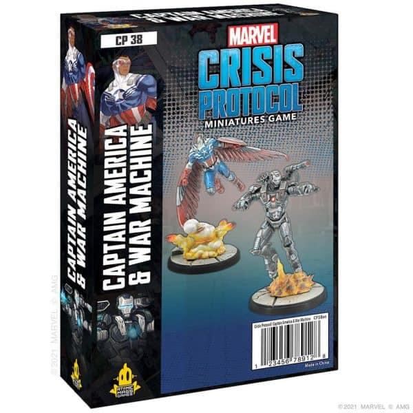 Captain America & War Machine