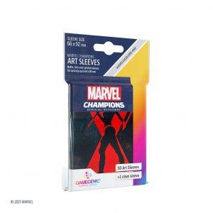 Marvel Champions Sleeves Black Widow