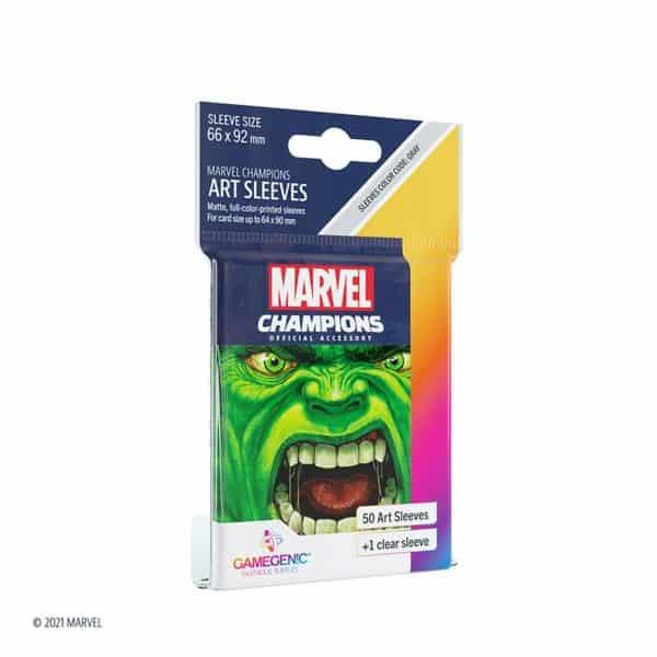 Marvel Champions Sleeves Hulk