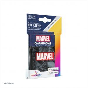 Marvel Champions Sleeves Marvel Black