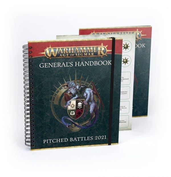 Warhammer Age of Sigmar: Manual de campo para generales batallas campales 2021 y perfiles de batallas campales