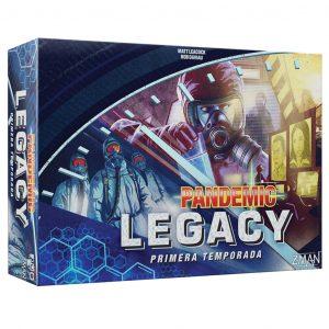 Pandemic Legacy Primera Temporada (Caja Azul)