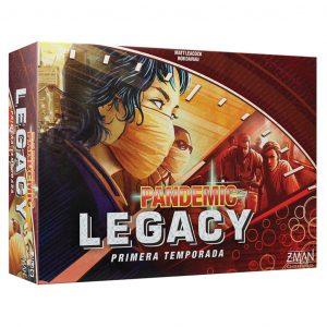 Pandemic Legacy PrimeraTemporada (Caja Roja)