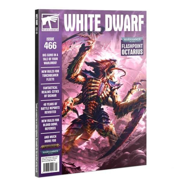 White Dwarf 466 (Inglés)