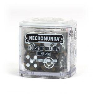 Necromunda: dados de la Casa de las Sombras
