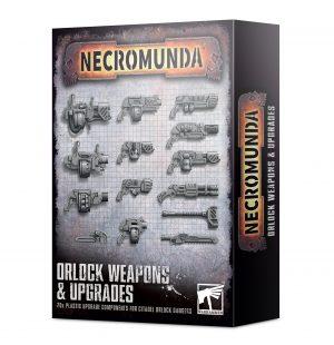 Armas y mejoras para Orlocks