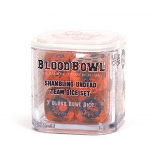 Juego de dados del Equipo Shambling Undead de Blood Bowl