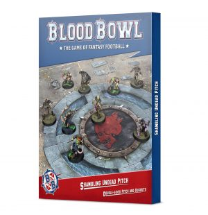 Blood Bowl Shambling Undead Pitch: Double-sided Pitch and Dugouts (Inglés)