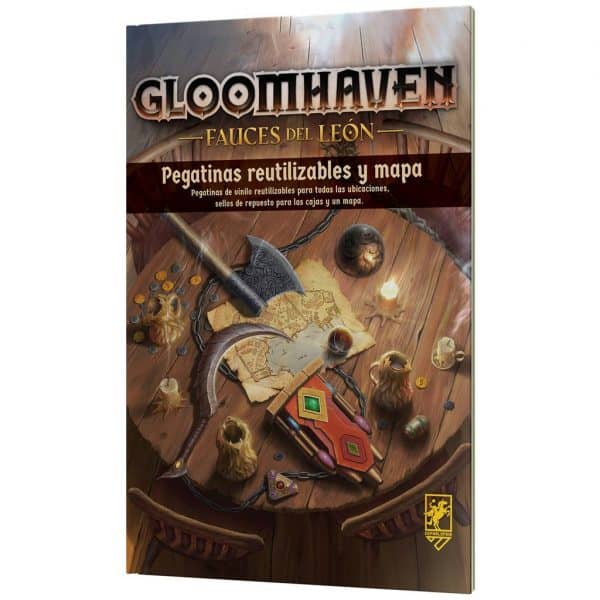 Gloomhaven Fauces del león Removable Stickers