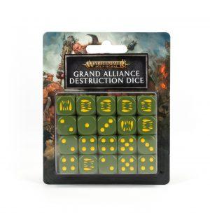 GRAND ALLIANCE DESTRUCTION DICE SET