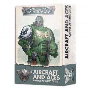 Aircraft and Aces – Adeptus Astartes Cards (Inglés)