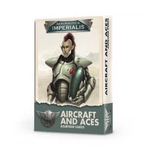 Aircraft and Aces – Asuryani Cards (Inglés)