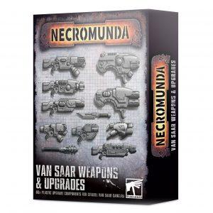 Mejoras y armas Van Saar