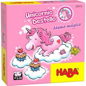 Unicornio Destello: Memo Mágico